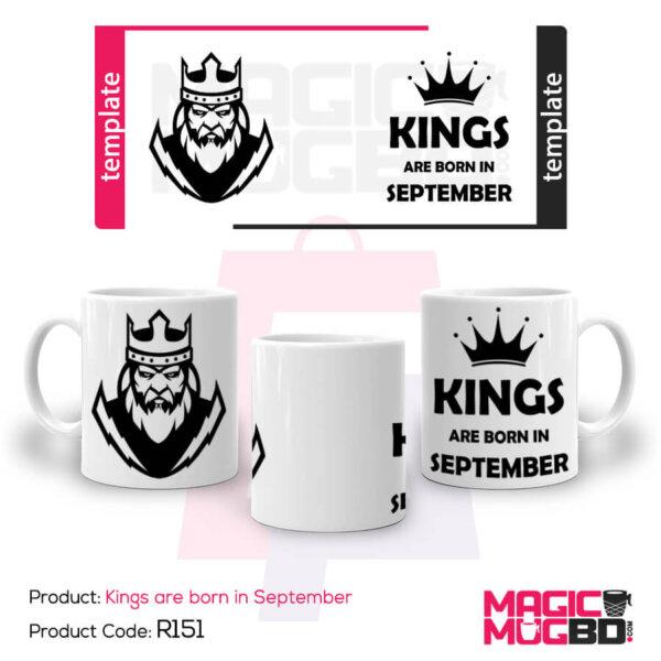 Kings are born in September2