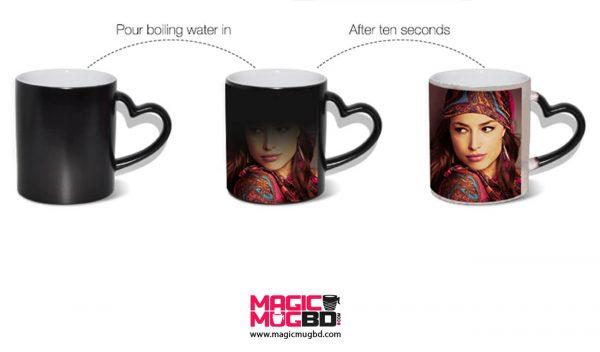 Magic Mug Heart Handle Dhaka, Bangladesh