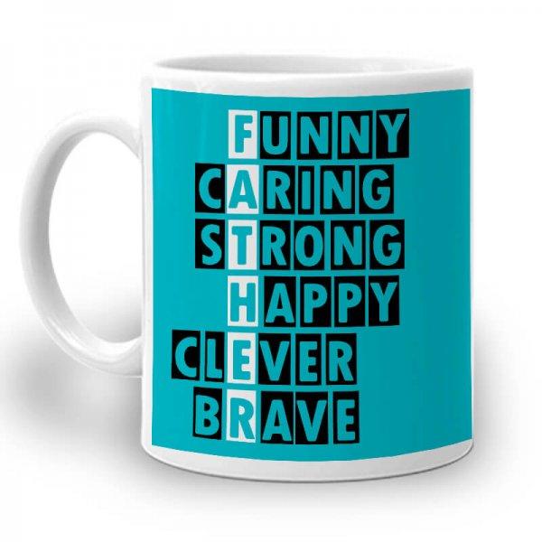 PC083. Father's Day Mug 01 Left