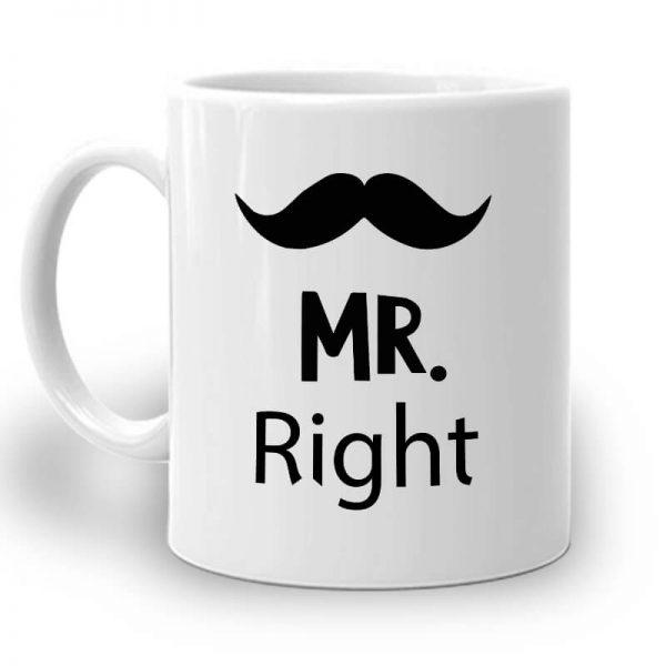 R103. Mr. & Mrs Mug – Left