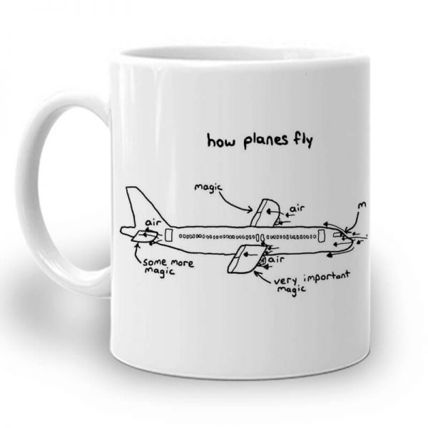 R105. Air Plane Art Left