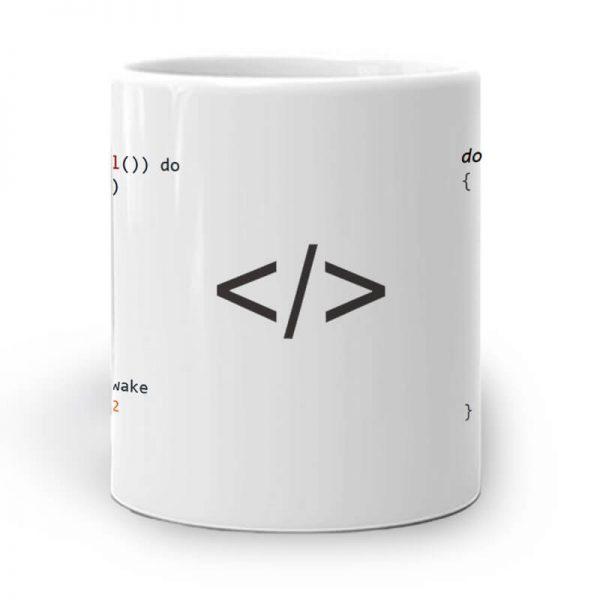 R107. Web Coding Mug Middle