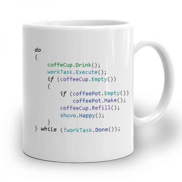 R107. Web Coding Mug Right