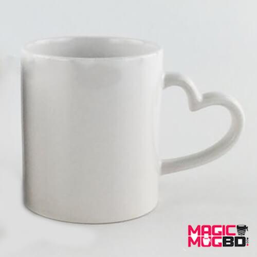 White Mug Heart Handle (1)