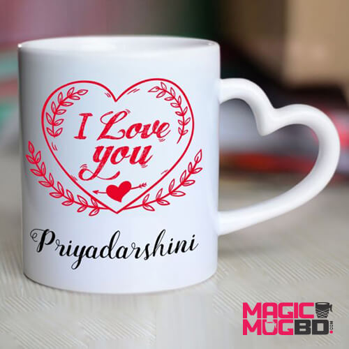 White Mug Heart Handle (2)