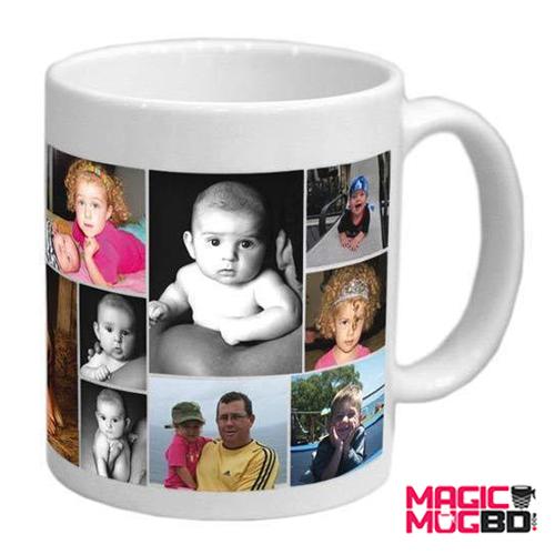 White Mug Round Handle (2)