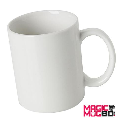 White Mug Round Handle (3)